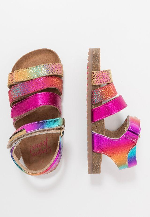 GIORGIA - Sandals - multicolor/pink