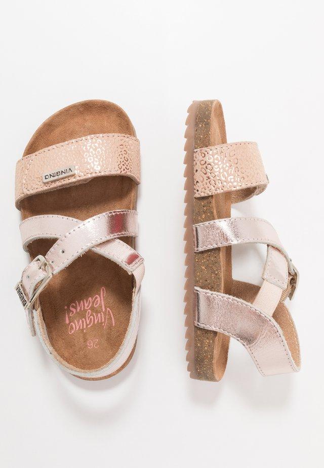 Riemensandalette - soft pink
