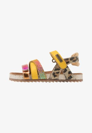 VIENNA - Sandals - multicolor/yellow