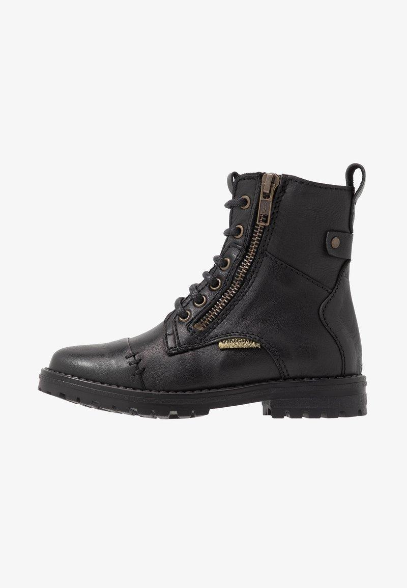 Vingino - DOMANI - Classic ankle boots - black/gold