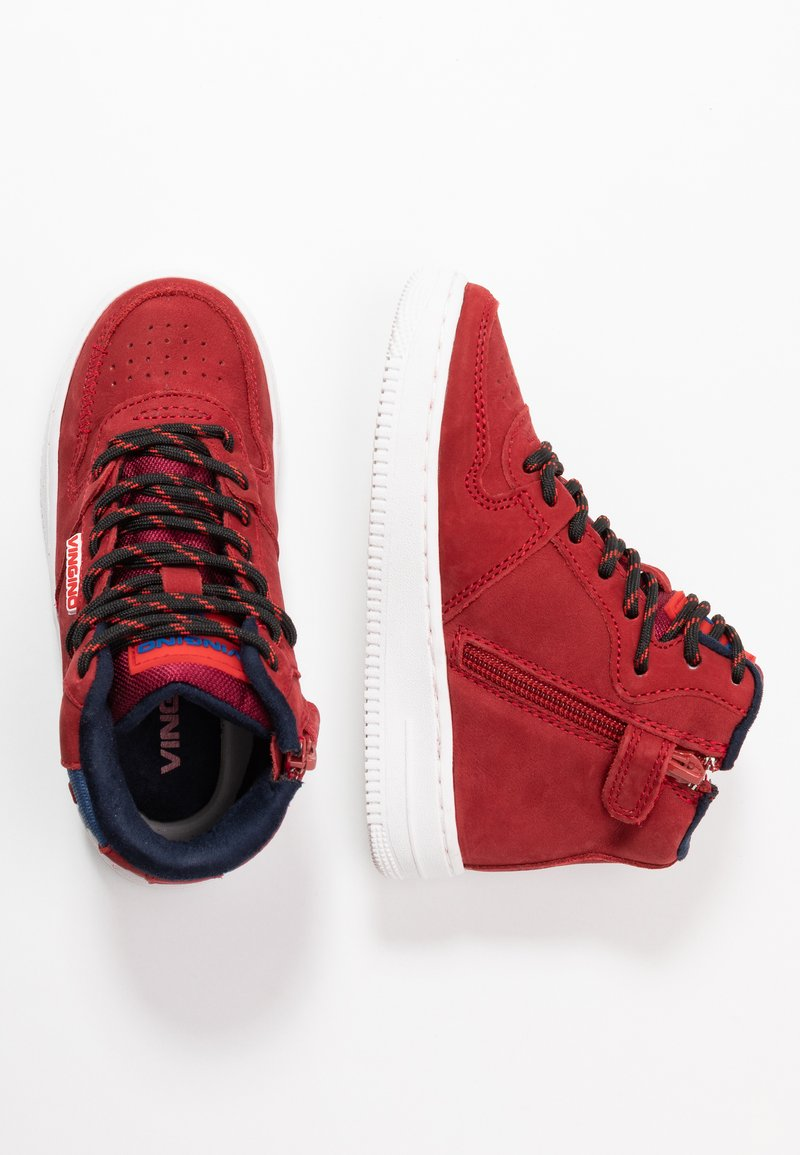 Vingino - TYLER MID - High-top trainers - red