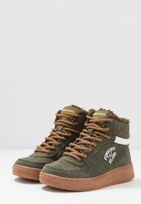 Vingino - ELIA MID - Sneaker high - army green - 3