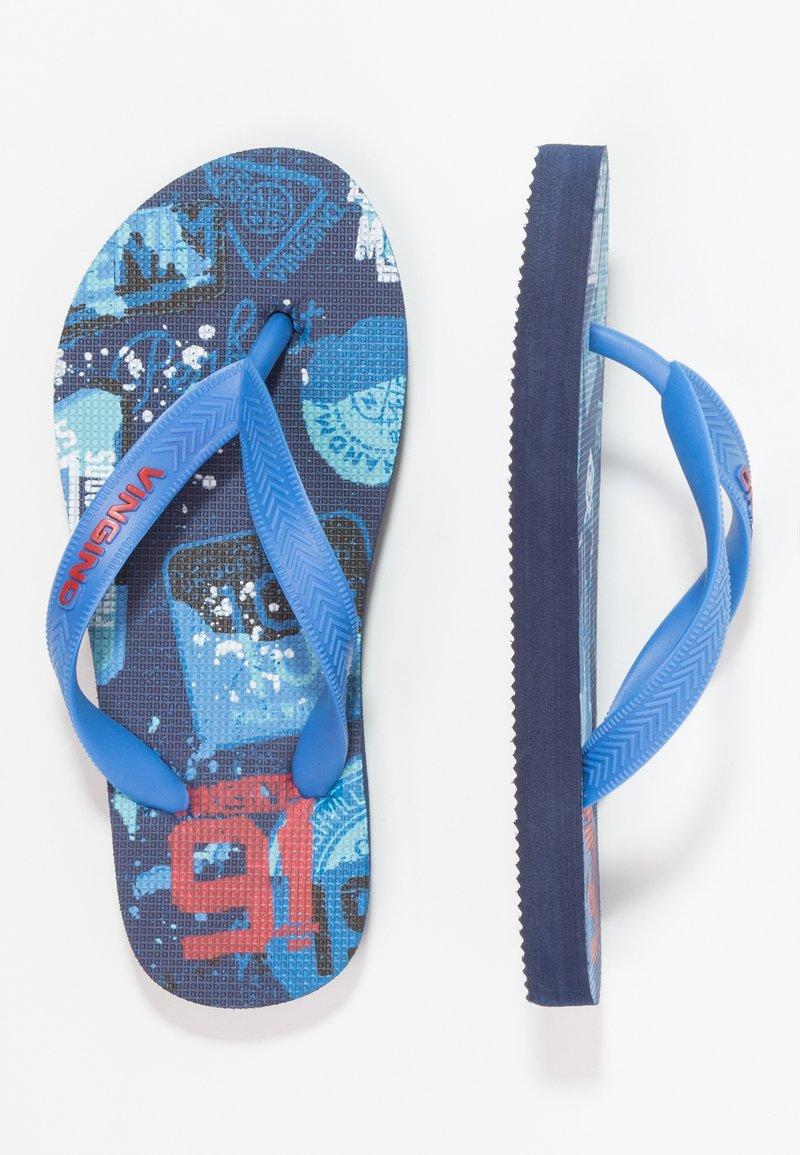Vingino - OLAF - Bade-Zehentrenner - light blue