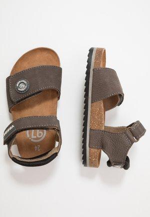 PASARO - Sandals - dark grey