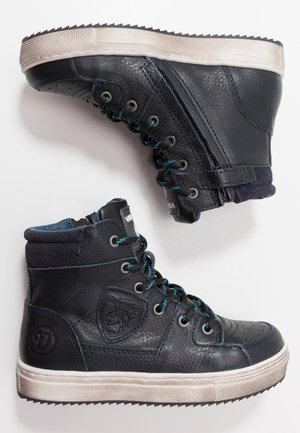 SIL MID - High-top trainers - night blue