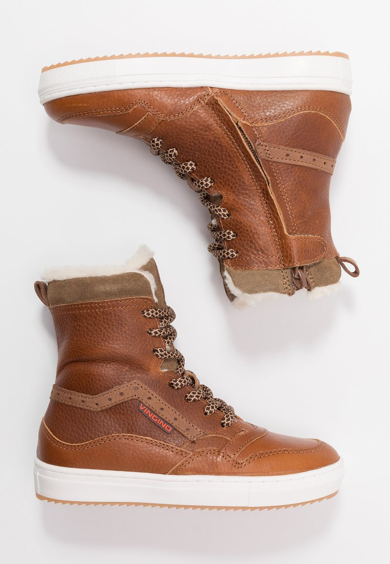 Vingino - RICK - Sneaker high - cognac