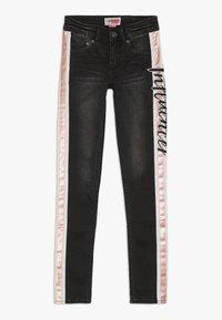 Vingino - BEATA - Skinny džíny - black vintage - 0