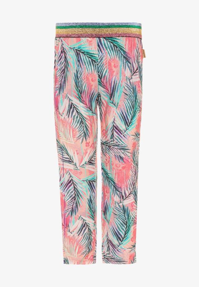 STILLA - Trousers - soft neon peach