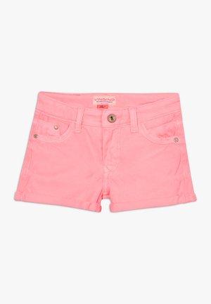 DELIA - Džínové kraťasy - neon pink