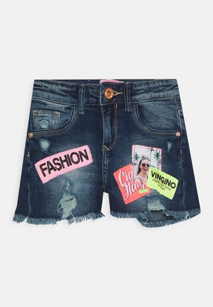 DONNA - Denim shorts - old vintage