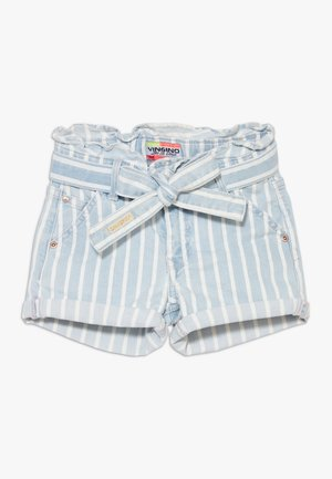 DALMINE - Denim shorts - blue