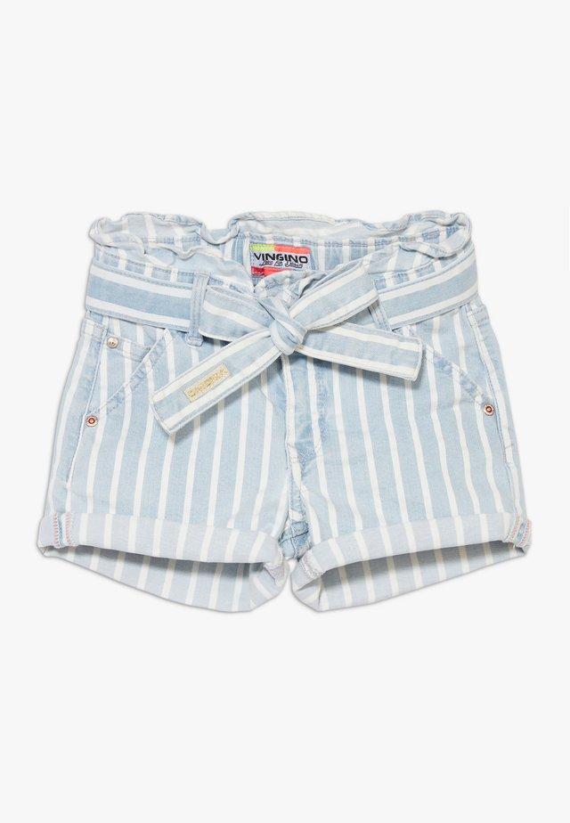 DALMINE - Jeans Shorts - blue