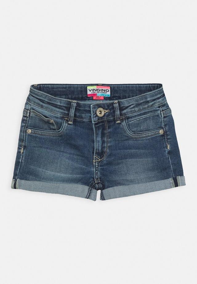 DAMARA - Denim shorts - mid blue wash
