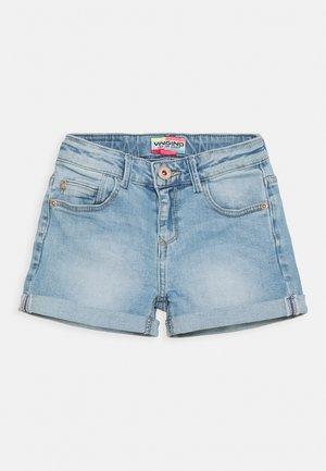 DAIZY - Denim shorts - light indigo