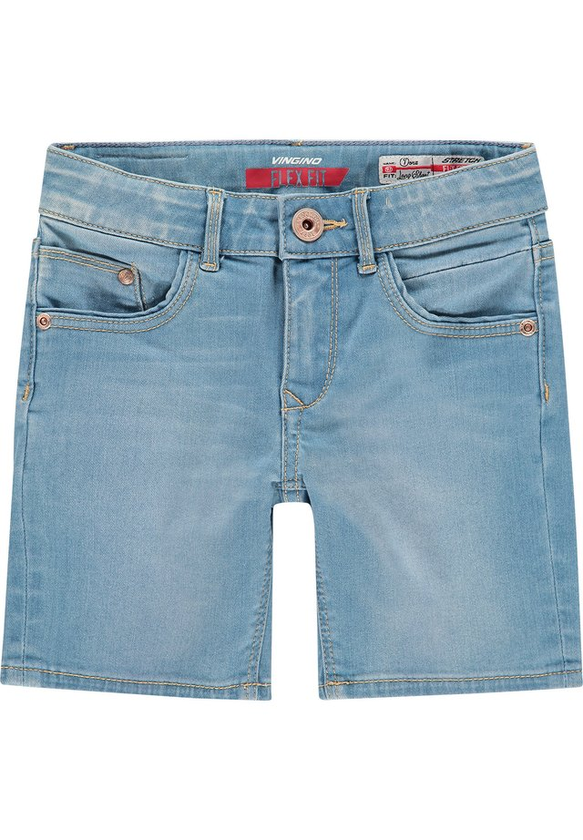 Denim shorts - light indigo