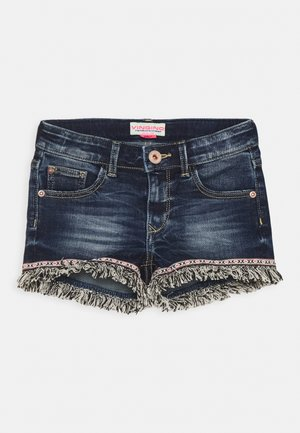 DONYA - Denim shorts - blue vintage