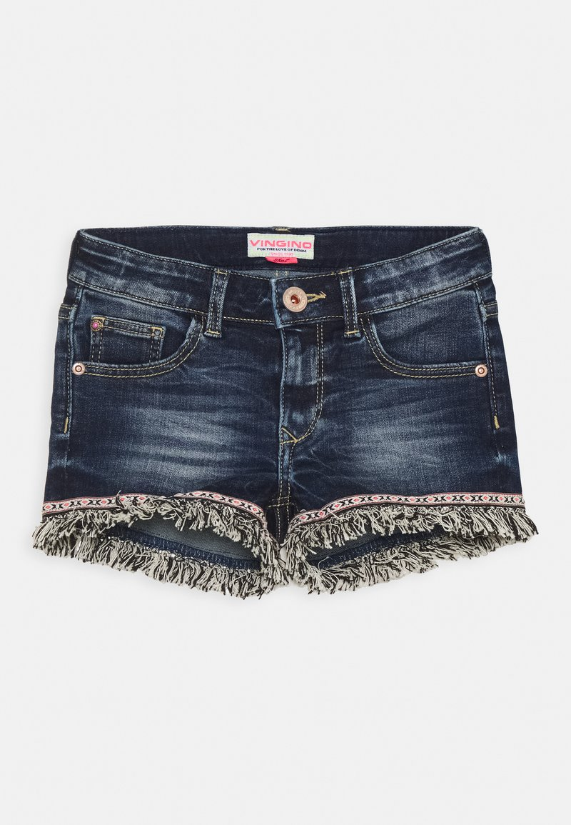 Vingino - DONYA - Denim shorts - blue vintage