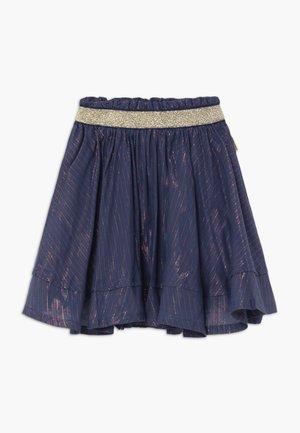 QATARLA - A-line skirt - dark blue