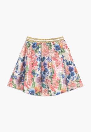 A-line skirt - spring white