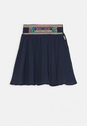 QUILY - A-line skirt - dark blue