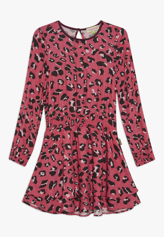 PARISH - Korte jurk - neon pink