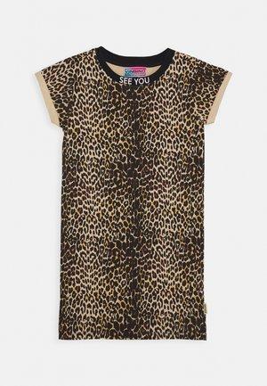 POLLY - Sukienka z dżerseju - multicolor/brown