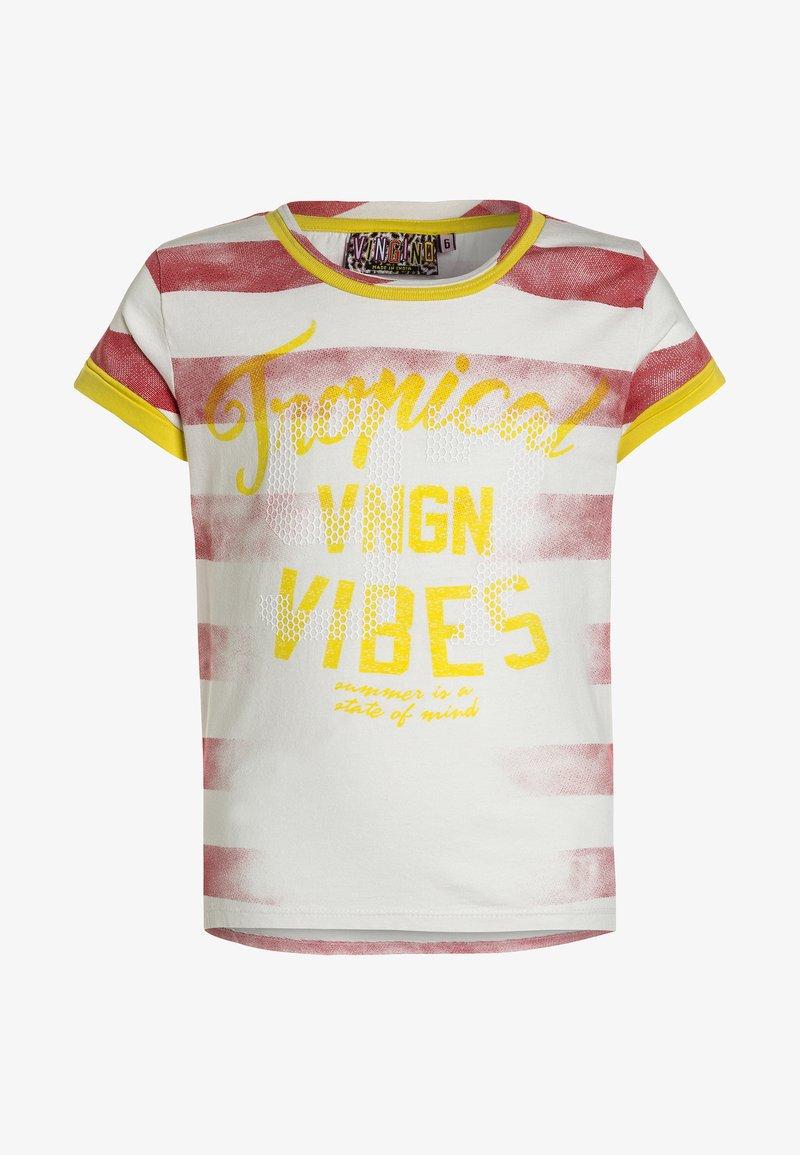 Vingino - IMME - T-Shirt print - red lollipop
