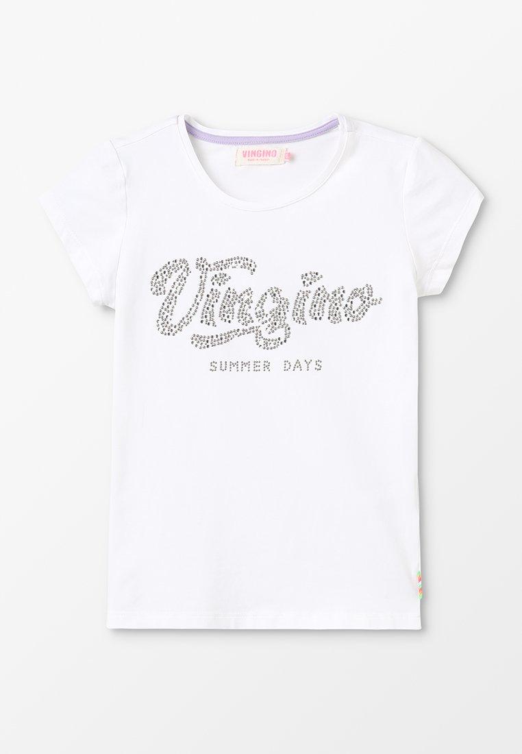 Vingino - HEVELIEN - T-Shirt print - real white