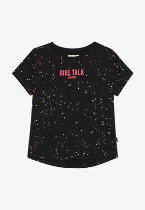 HEATHER - T-shirt imprimé - deep black