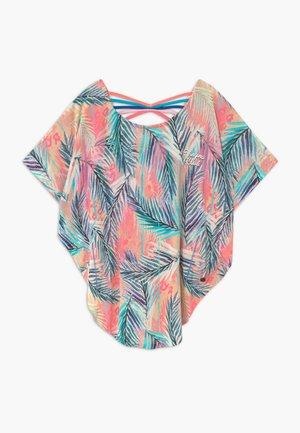 ILENE - Print T-shirt - soft neon peach