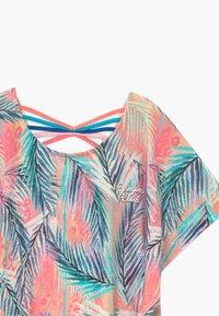 Vingino - ILENE - Print T-shirt - soft neon peach - 3