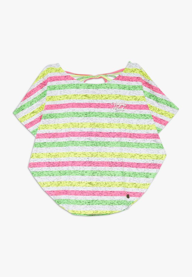 ILENE - Print T-shirt - neon pink