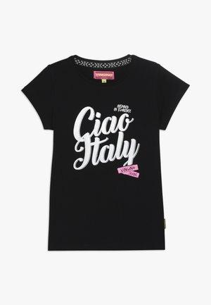 HINRY - Print T-shirt - deep black
