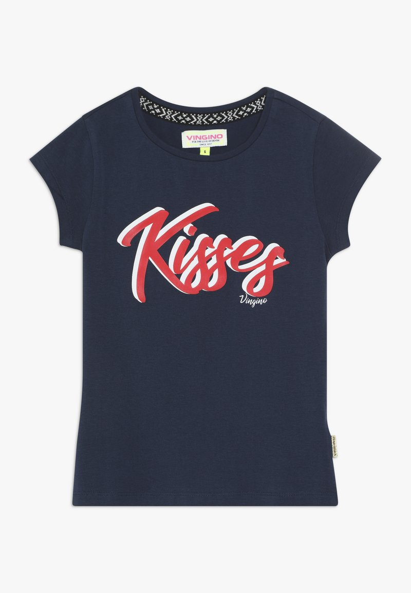 Vingino - HAIDRY - Print T-shirt - dark blue