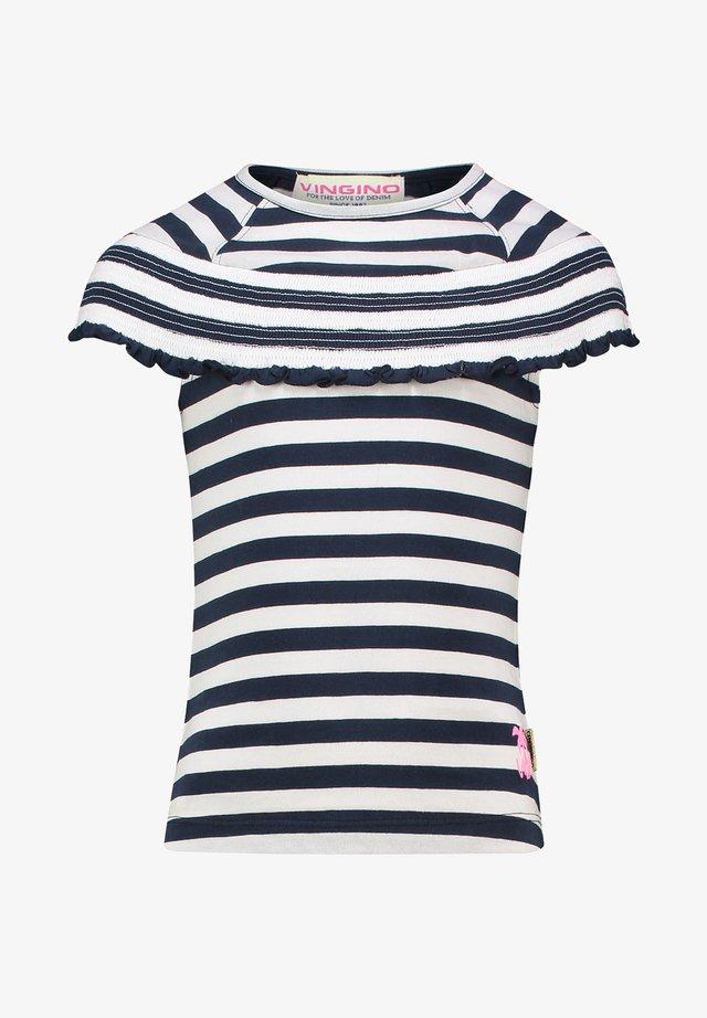 HINKSE  - Print T-shirt - dark blue
