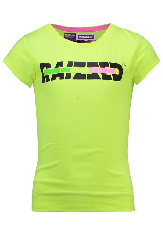 VENICE - Print T-shirt - sparkle lime