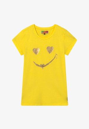 HELAINE - Print T-shirt - bright yellow