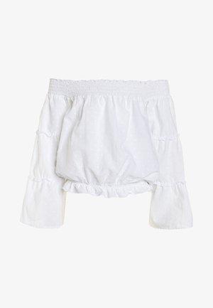 LESTHA - Blouse - real white