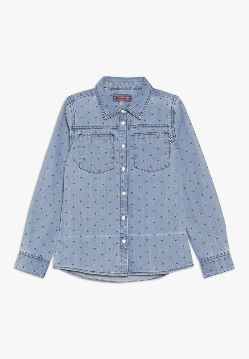 Vingino - LONNIKE - Skjortebluser - denim blue