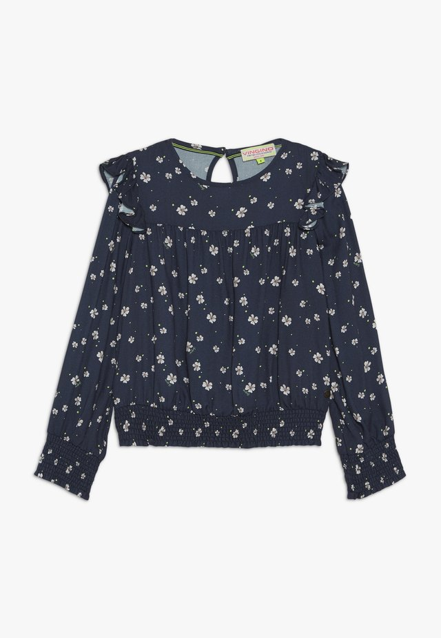 LERINE - Blouse - dark blue