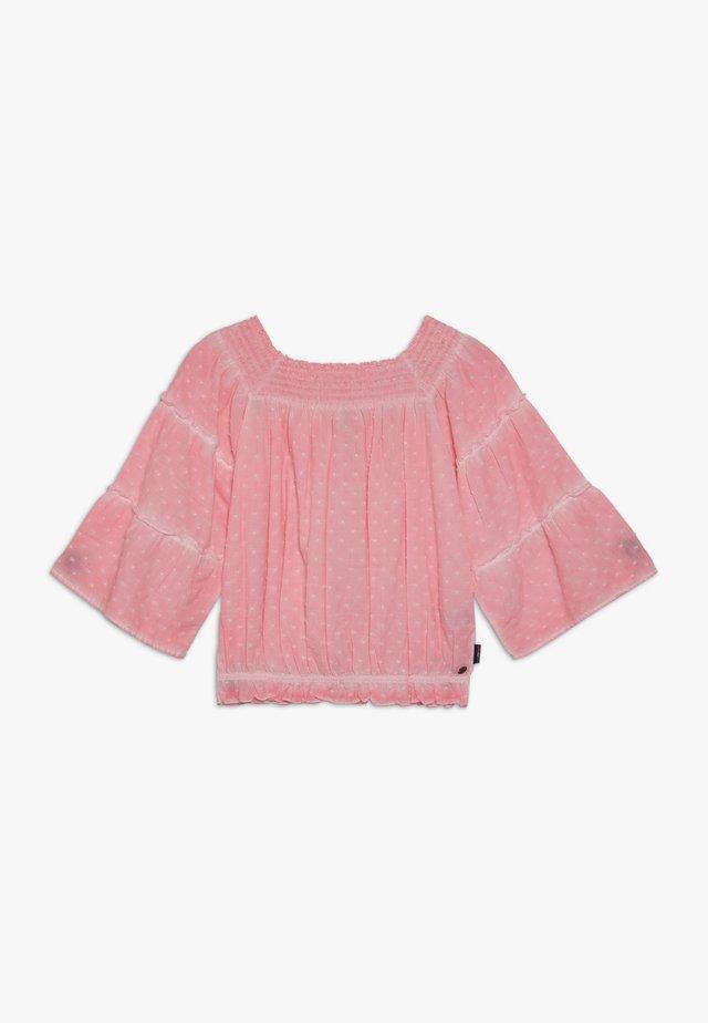 LAILA - Blouse - neon pink
