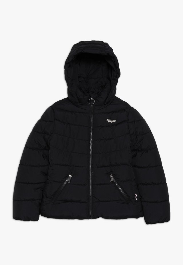 TRESIA - Winter jacket - deep black