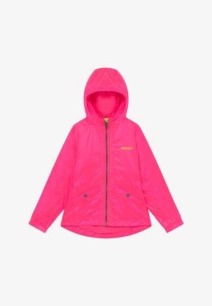 TYRA - Kurtka przejściowa - neon pink