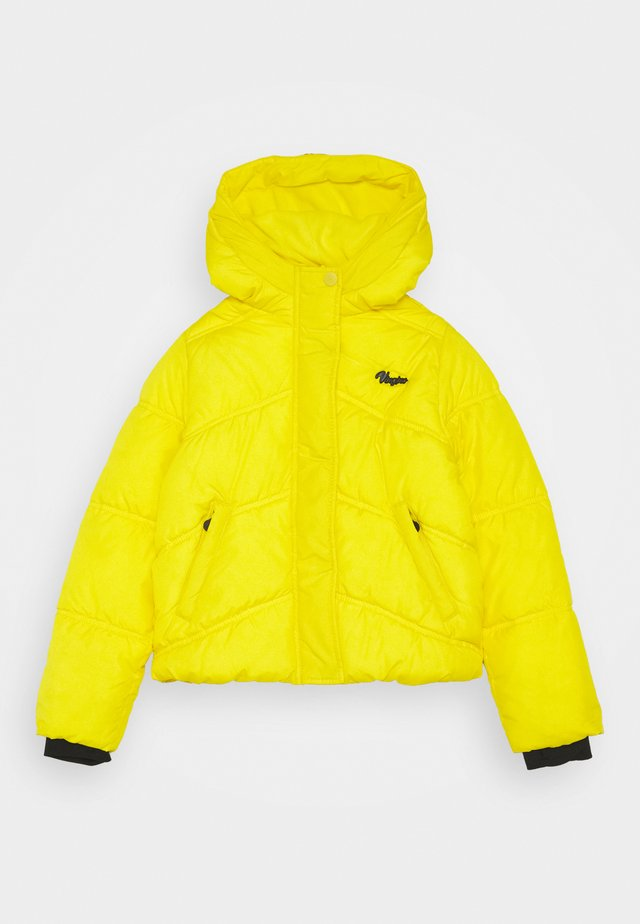 TIGANNE - Winter jacket - bright yellow