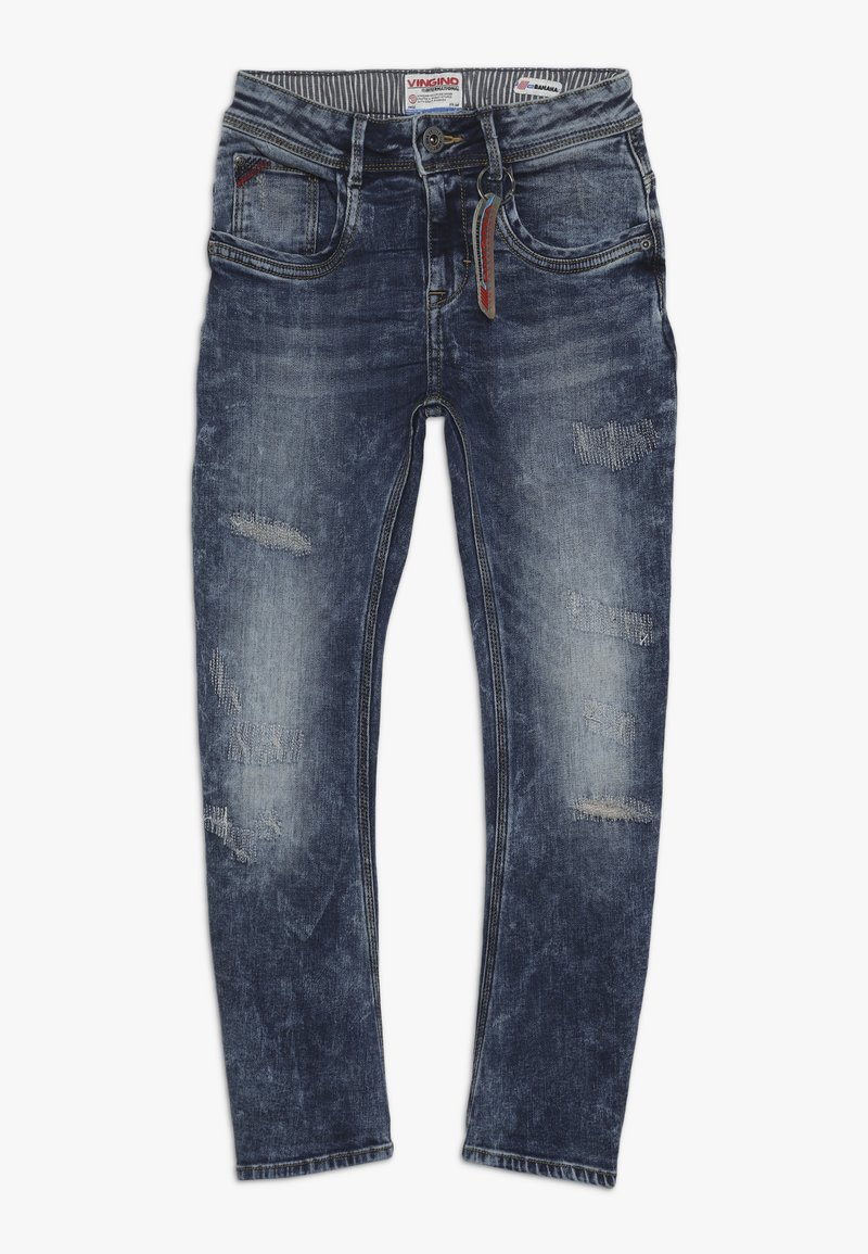 Vingino - CALCAS - Jeans Slim Fit - mid blue wash