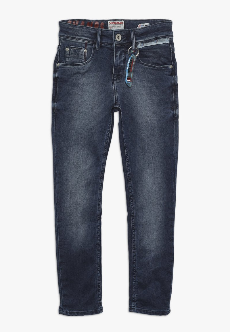 Vingino - ANGELO - Jeans Skinny Fit - deep dark