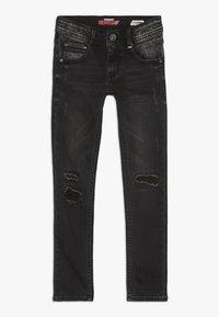 Vingino - ADAMOS - Jeans Skinny Fit - dark grey vintage - 0