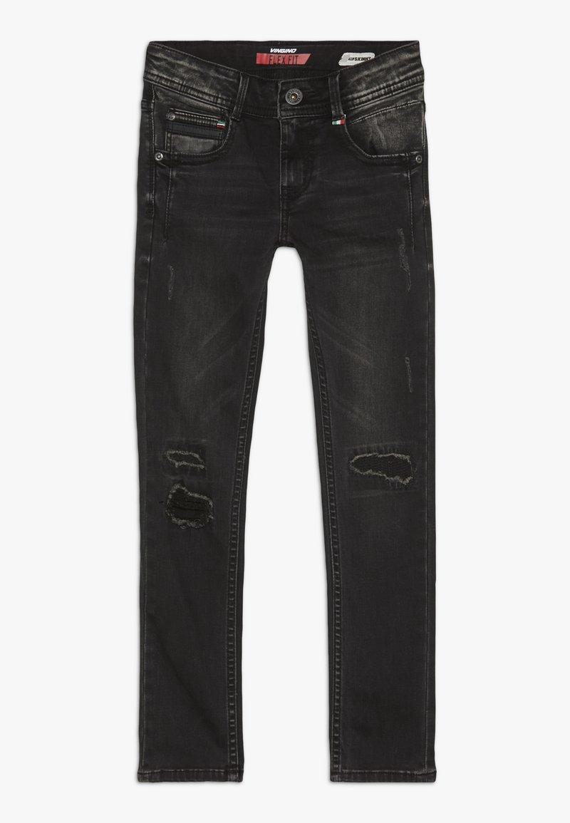 Vingino - ADAMOS - Jeans Skinny Fit - dark grey vintage