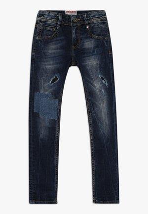 AGNUS - Jeans Skinny Fit - dark used