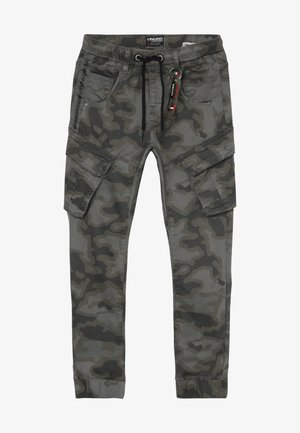 CARLOS - Cargo trousers - grey